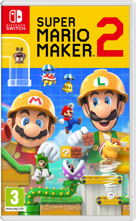 Jaquette Super Mario Maker 2 Nintendo Switch