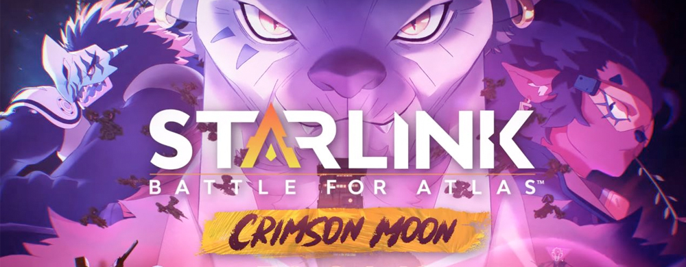 Starlink Crimson Moon