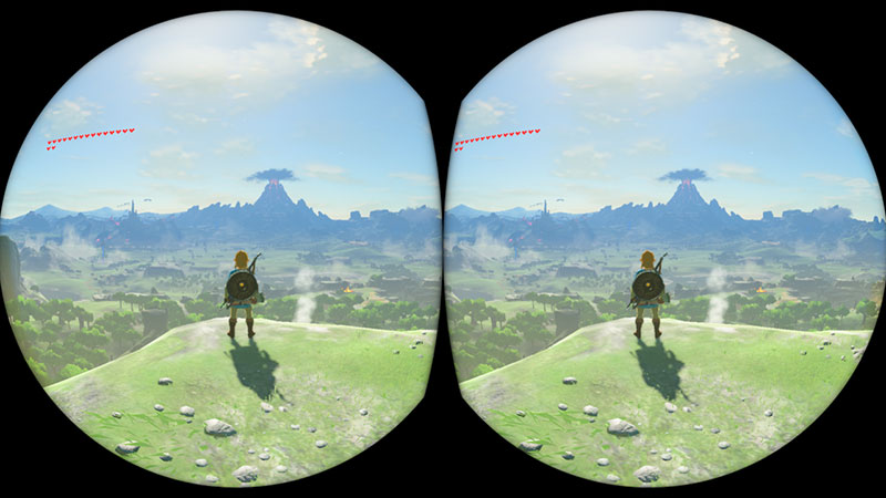 Zelda Switch VR