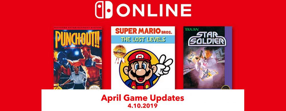 NES : les jeux du mois d'avril