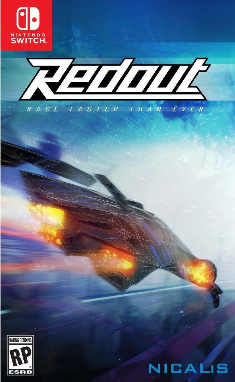 Redout boxart Nintendo Switch