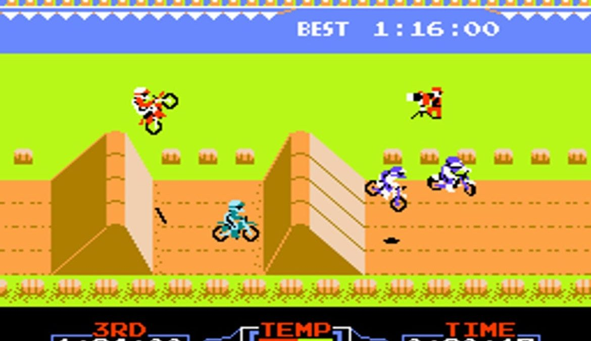 VS Excitebike Nintendo Switch NES