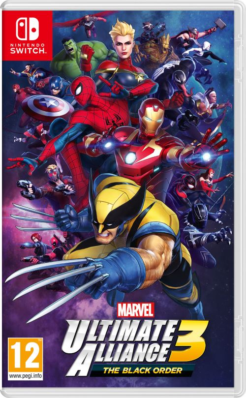 Marvel Ultimate Alliance 3 boxart