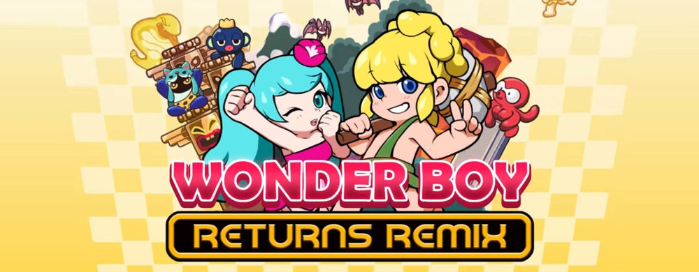 WB, Wonder Boy, Wonder Boy Returns Remix