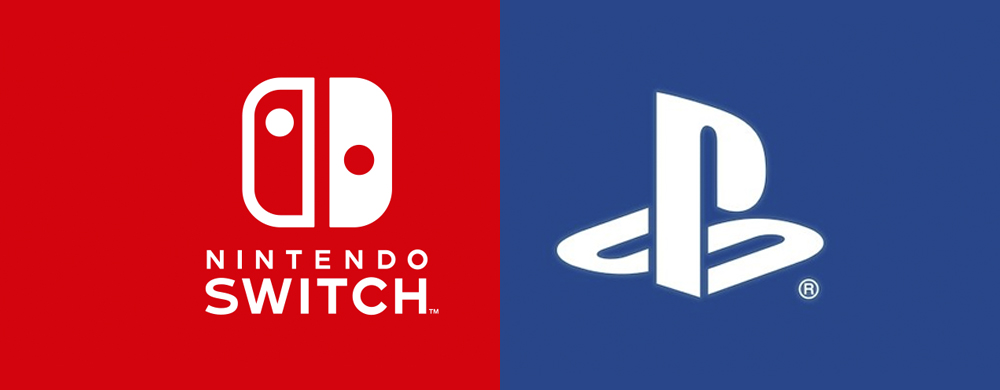 Nintendo Switch et PlayStation 4