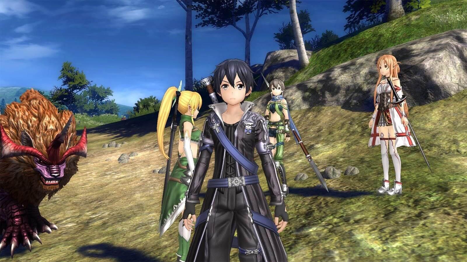 sword art online switch