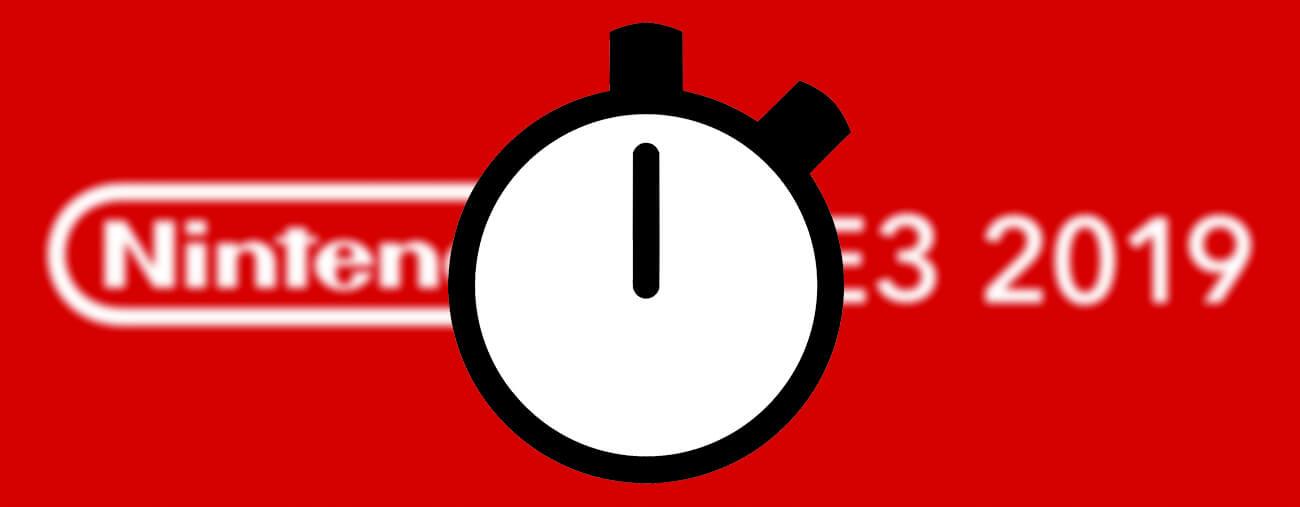 Une durée de 40 minutes pour le Nintendo Direct E3 ? - Switch-Actu