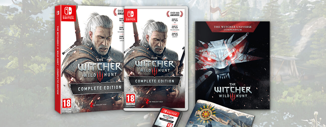 The Witcher 3 Nintendo Switch illu
