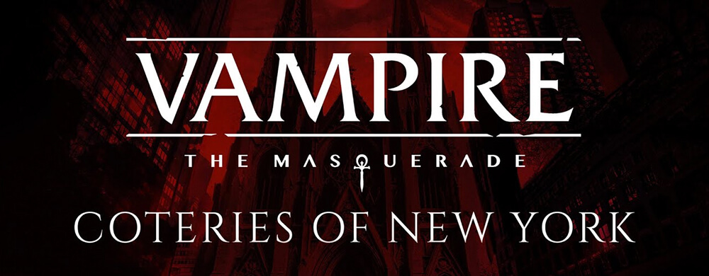 Vampire The Masquerade- Coteries of New York Nintendo Switch