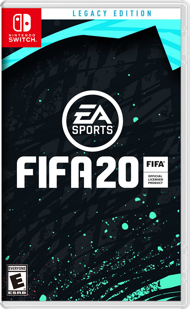 jaquette fifa 20 switch