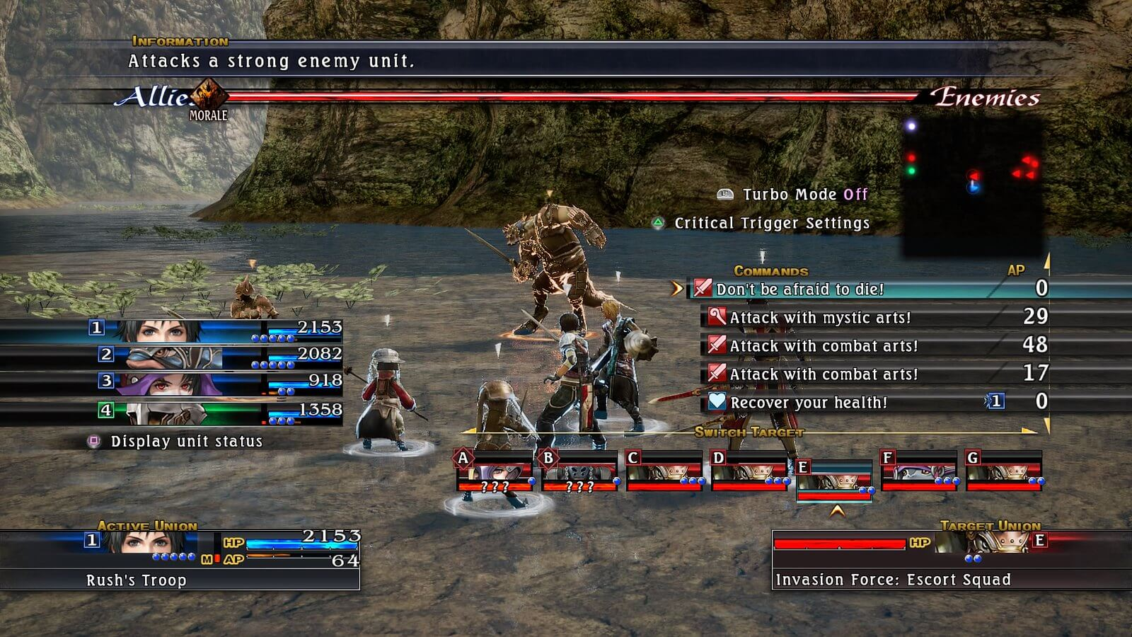 last remnant switch portage
