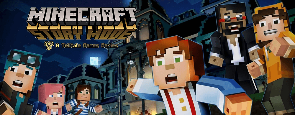 minecraft story mode arrêt du support
