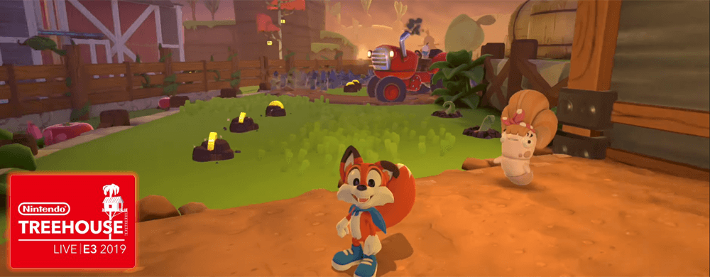 new super lucky's tale nintendo treehouse