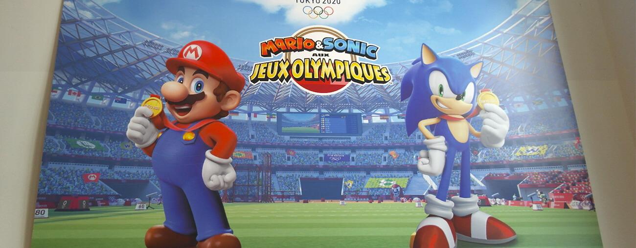Preview Mario & Sonic aux JO de Tokyo