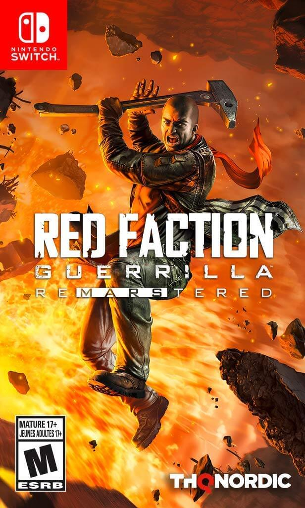Red Faction Guerrilla Re-Mars-tered Jaquette