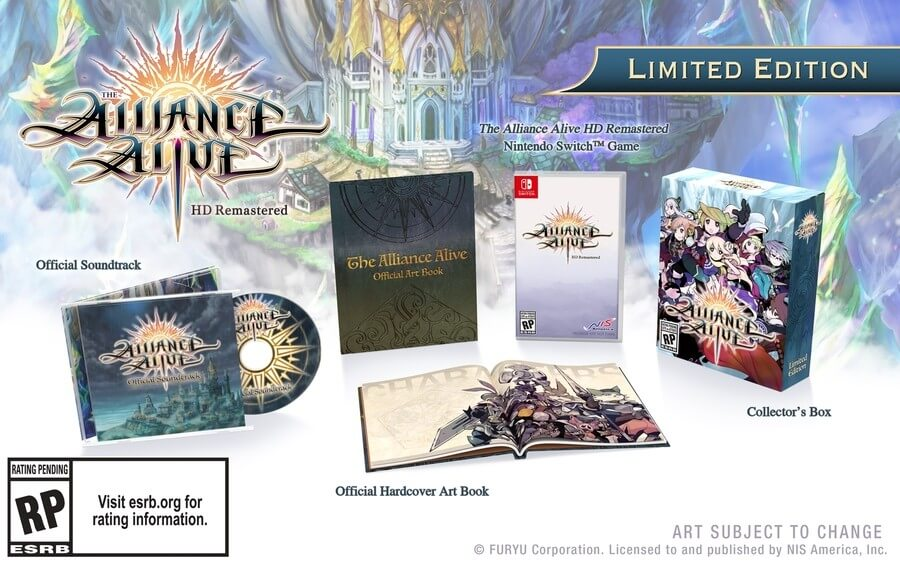 the alliance alive remastered collector switch