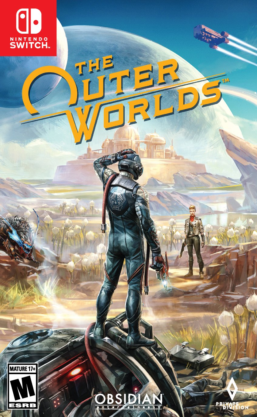 The Outer Worlds Nintendo Switch cover