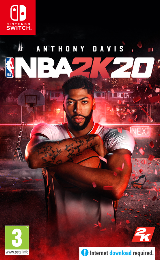 Jaquette NBA 2K20 Nintendo Switch