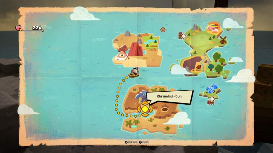 DQB2 Map