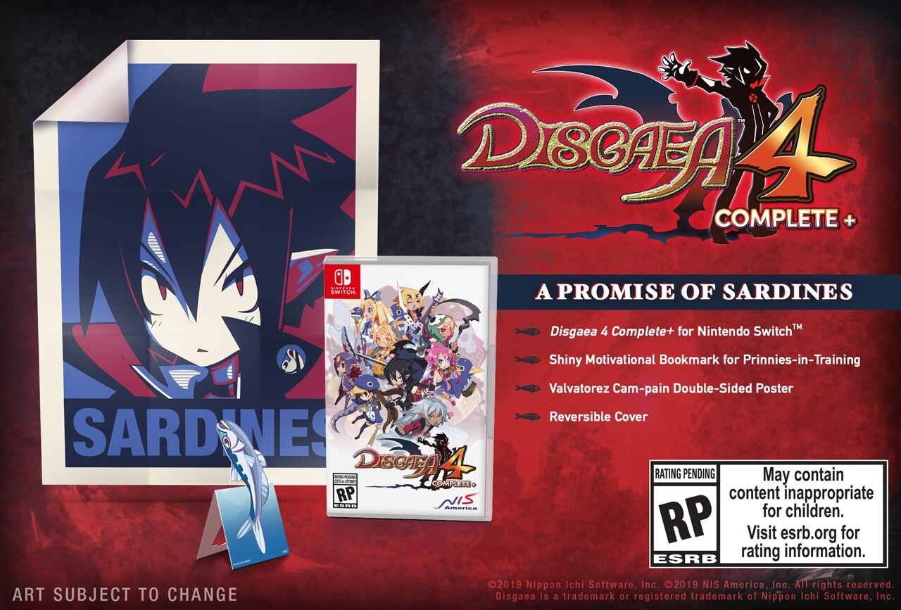 disgaea 4 complete+ switch