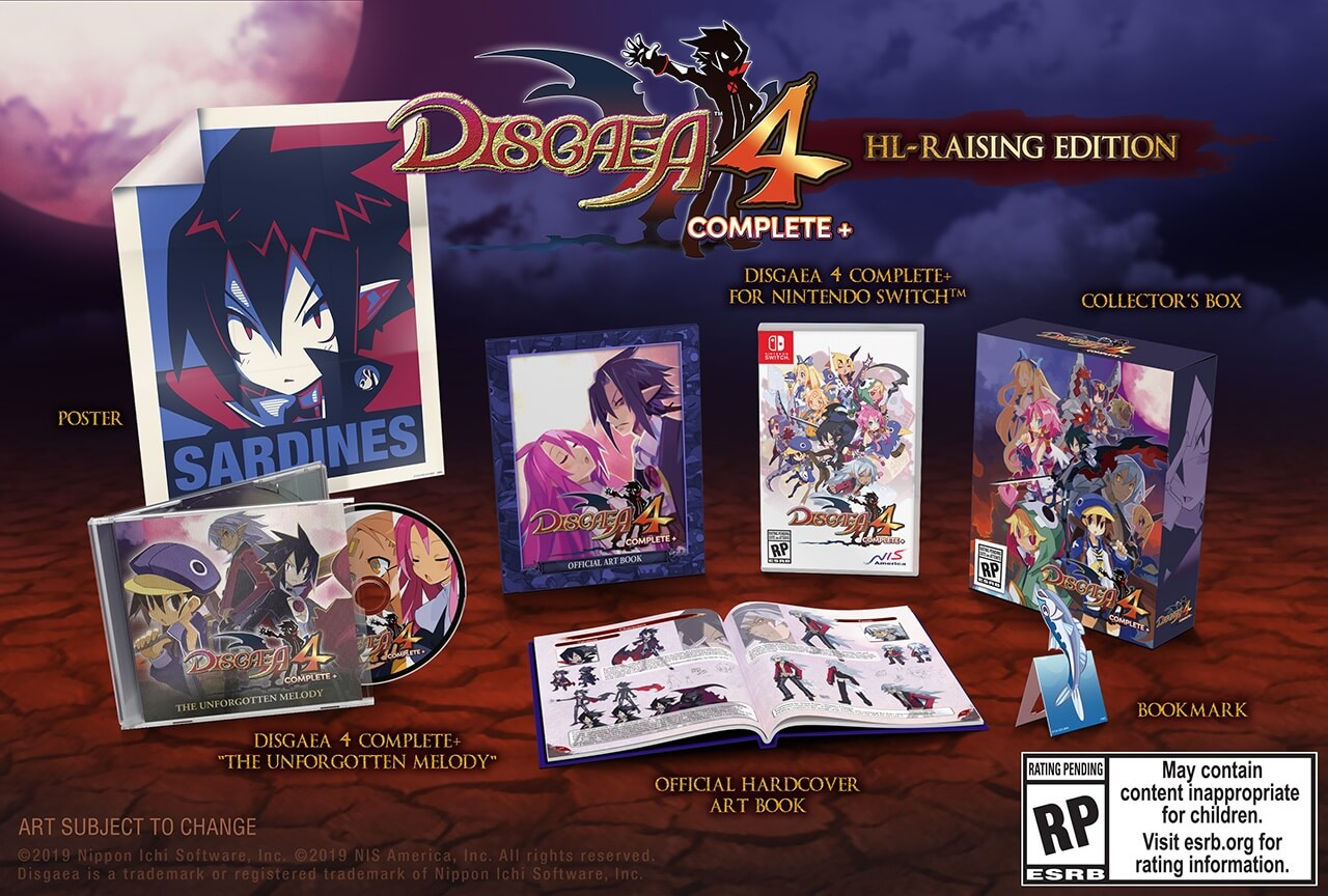 disgaea 4 switch collector
