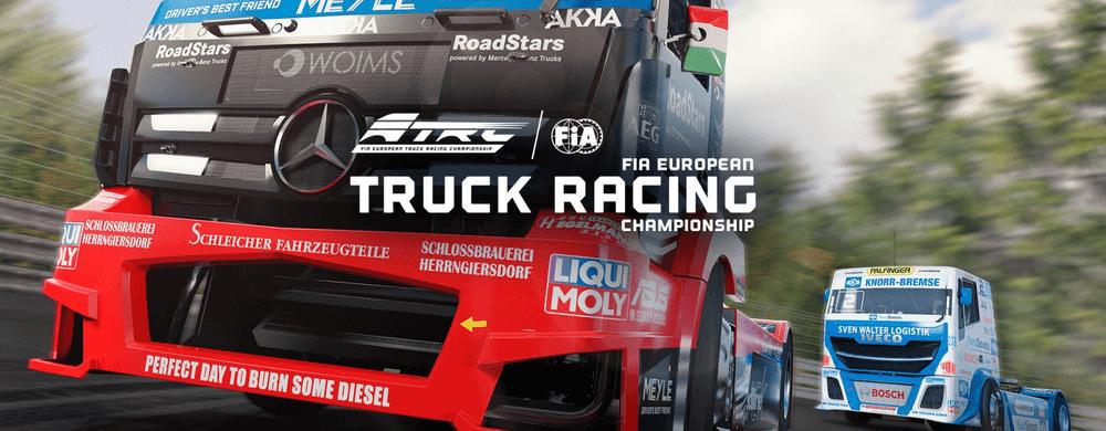 fia european truck racing championship nintendo switch sortie