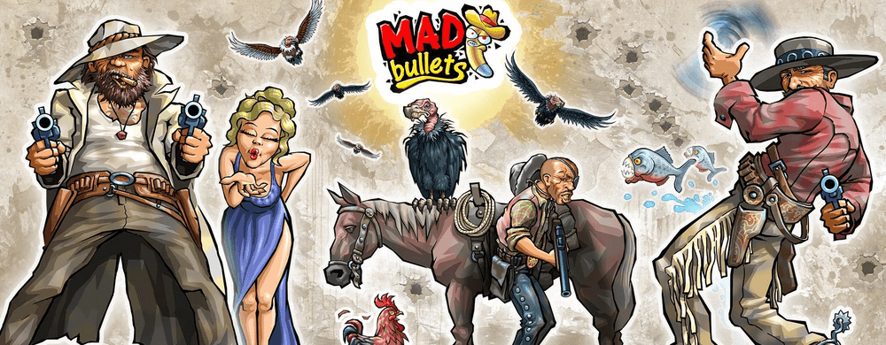 mad bullets rail shooter nintendo switch