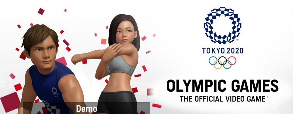tokyo 2020 olympic games: the official video game demo switch