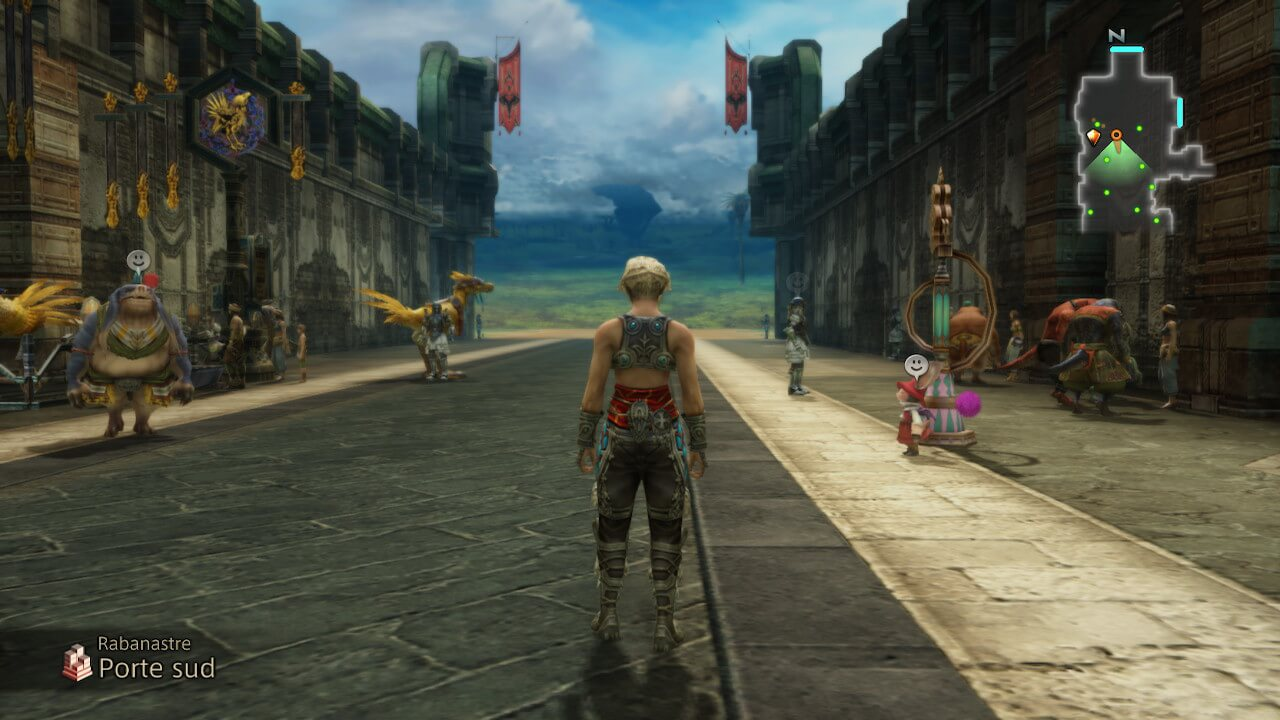Final Fantasy XII en action