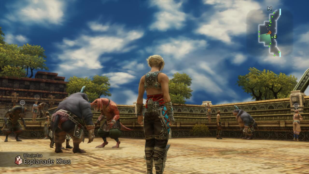 Vue sur Final Fantasy XII