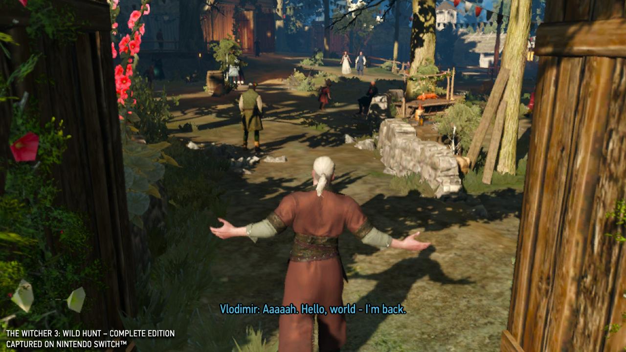 The Witcher 3 Nintendo Switch screenshot