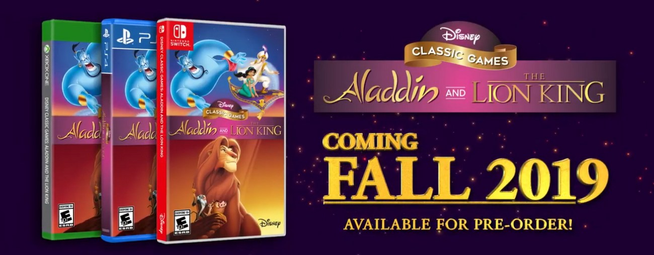 aladdin roi lion disney classics remasters nintendo switch