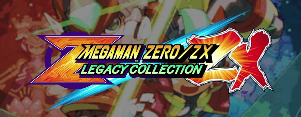Mega Man Zero/ZX Legacy Collection switch