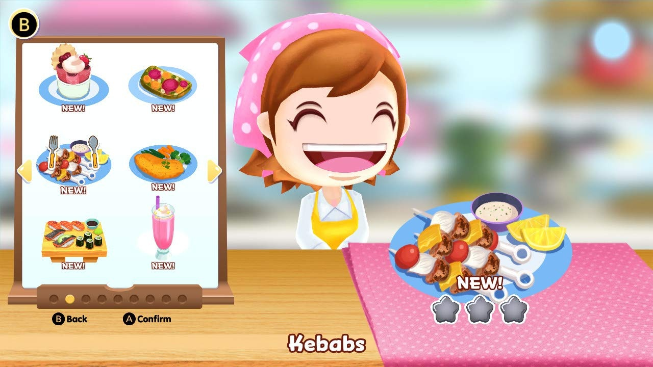 cooking mama: cookstar switch 4
