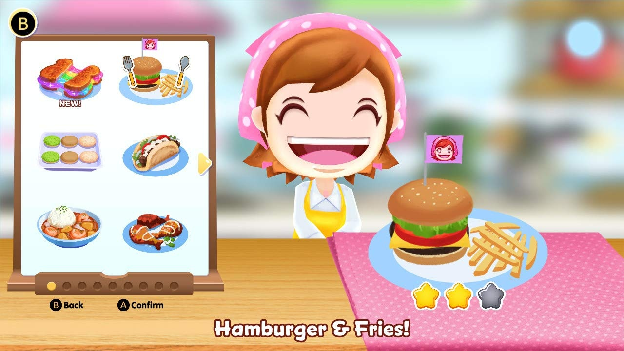 cooking mama: cookstar switch 3