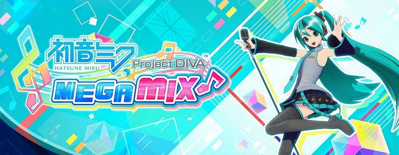 hatsune miku: project DIVA Mega Mix nintendo switch france
