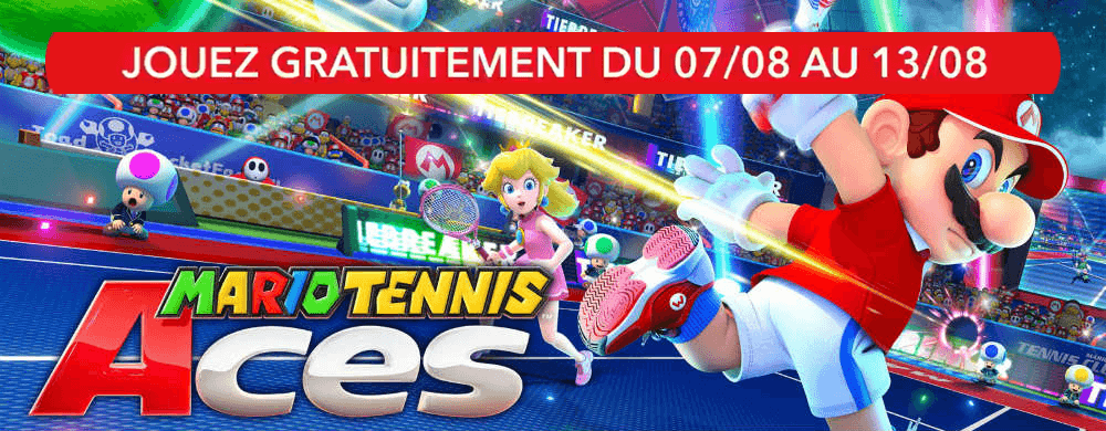 mario tennis aces gratuit switch