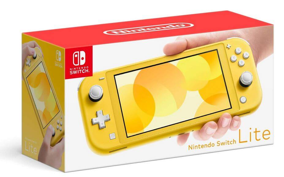 Packaging Nintendo Switch Lite