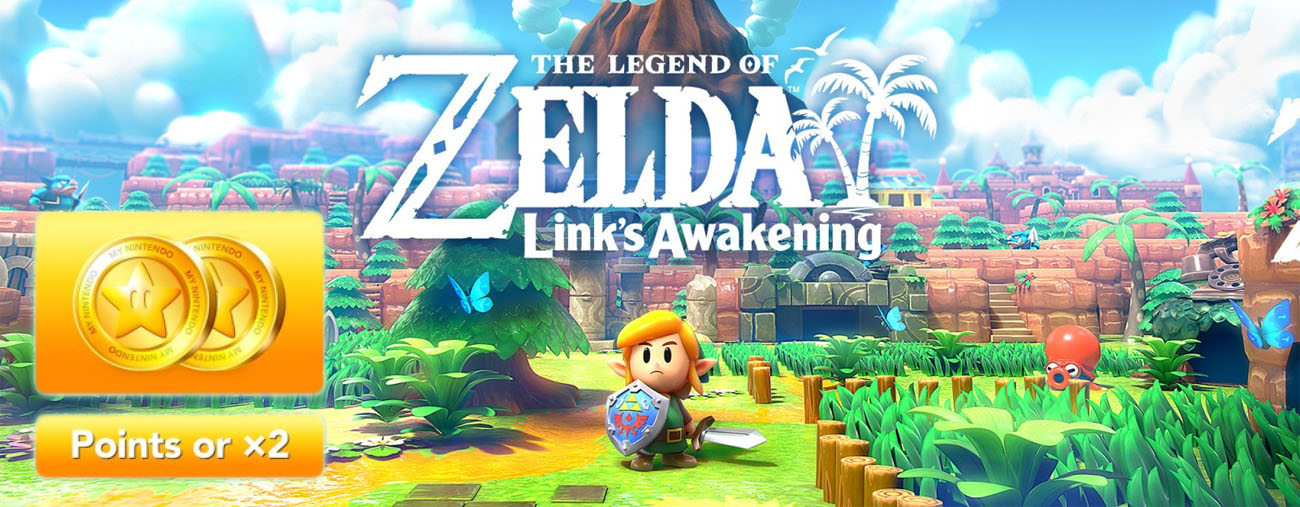 link's awakening précommande bonus 6 euros points or