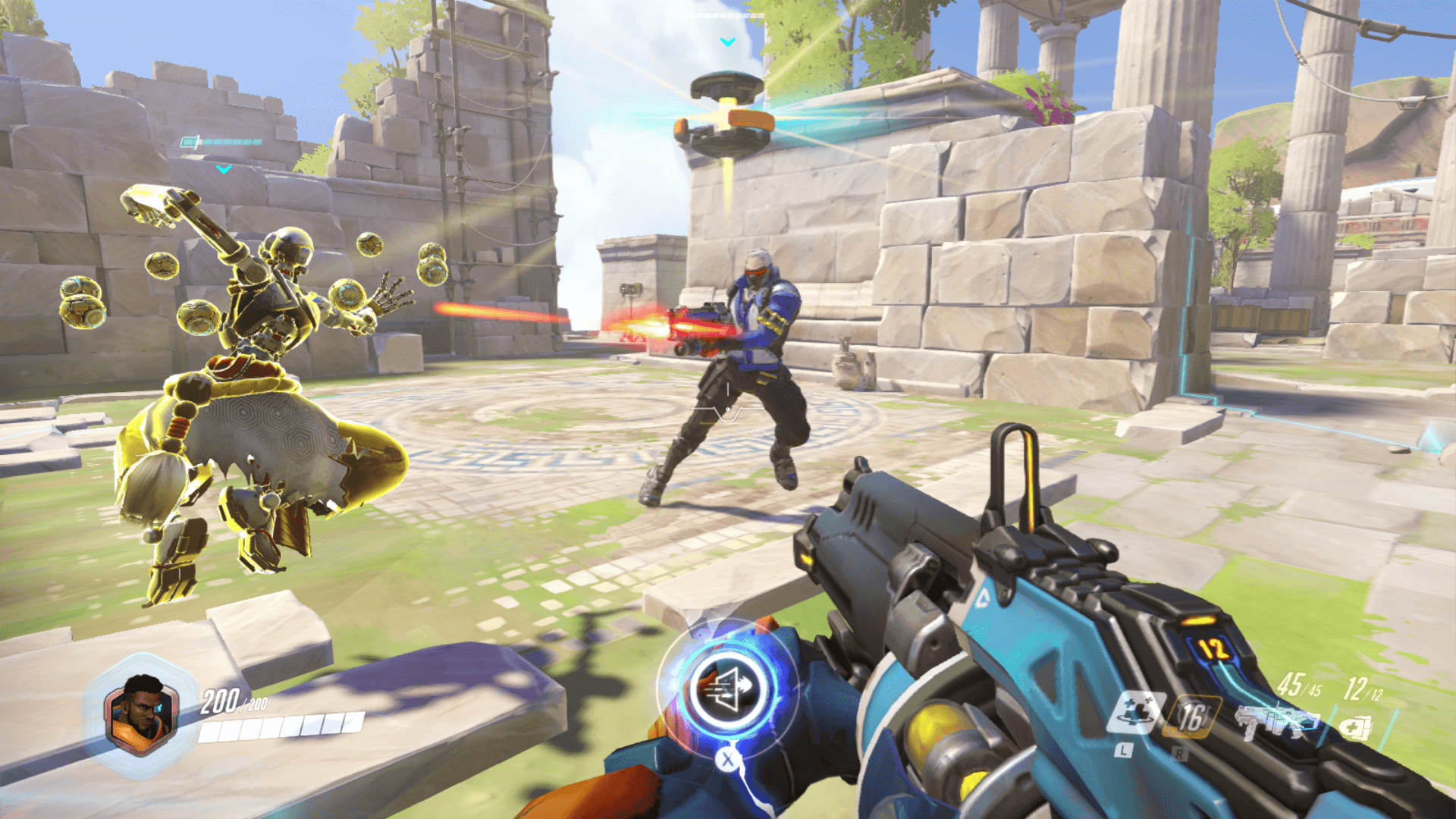 Overwatch Nintendo Switch screenshot