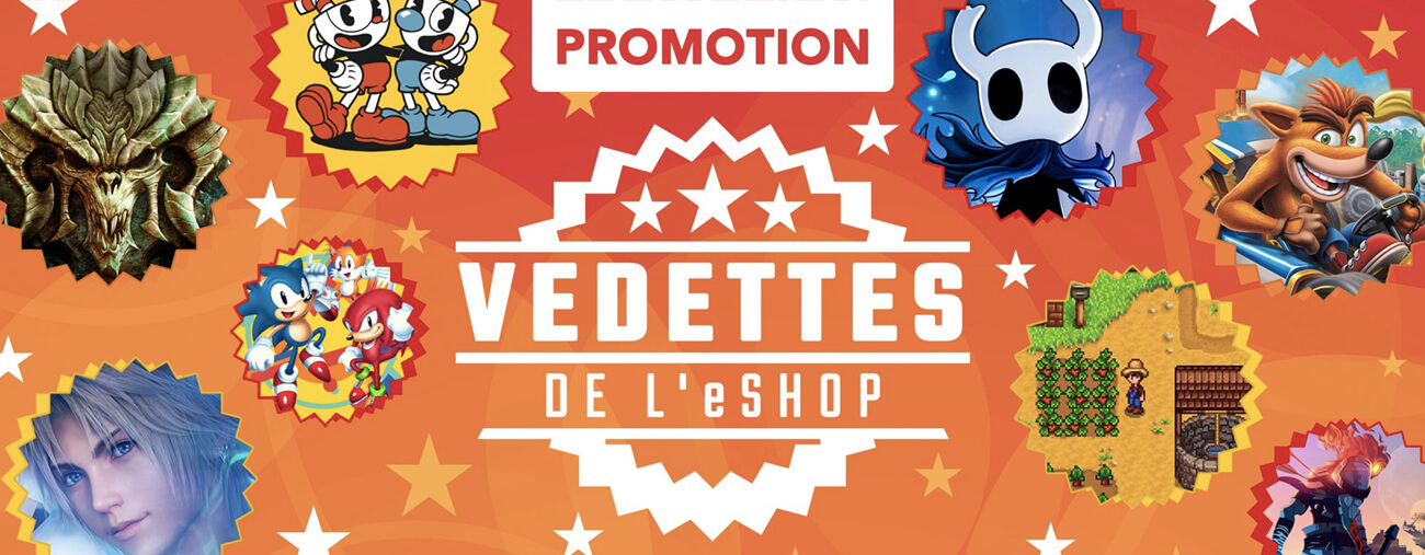 Promotions eshop nintendo switch vedette