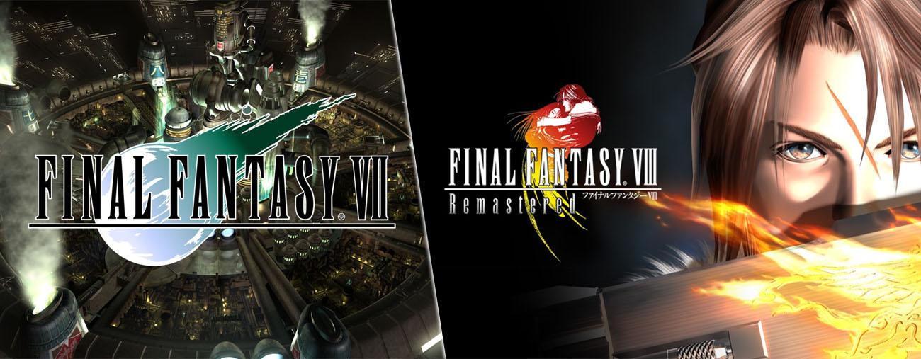 final fantasy VII et VIII version boite nintendo switch