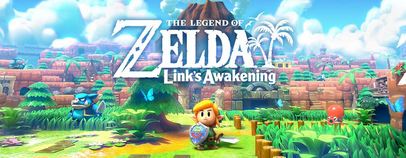 the legend of zelda link's awakening nintendo switch remake