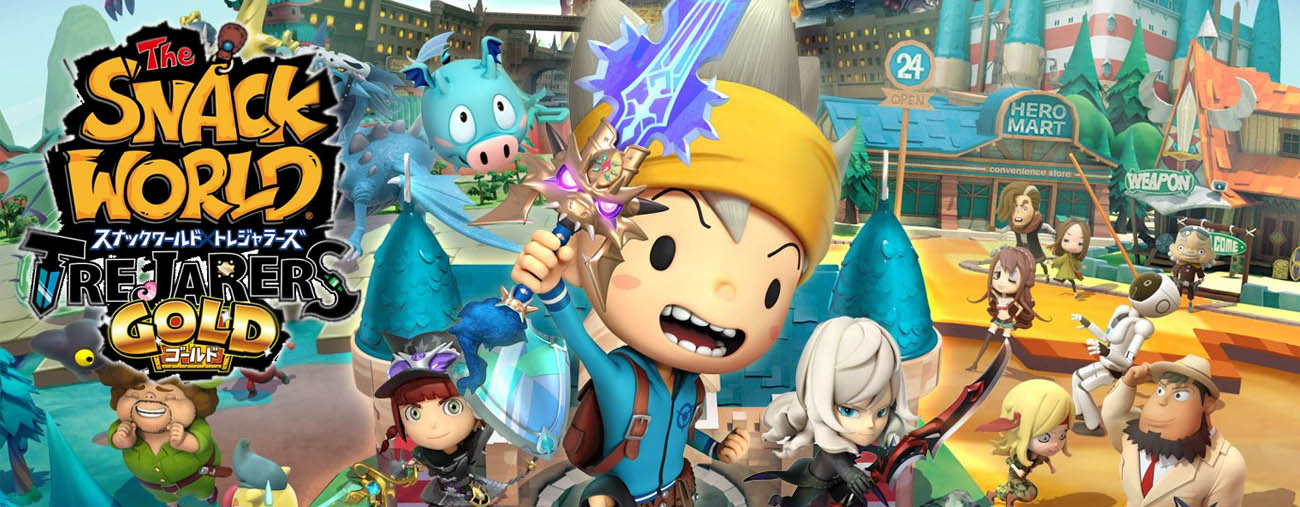 the snack world: trejarers gold nintendo switch