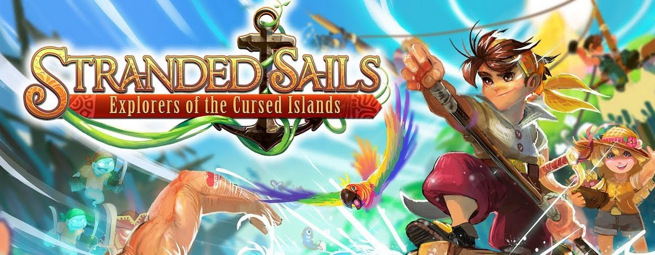 Stranded Sails Explorers of the Cursed Islands nintendo switch 2