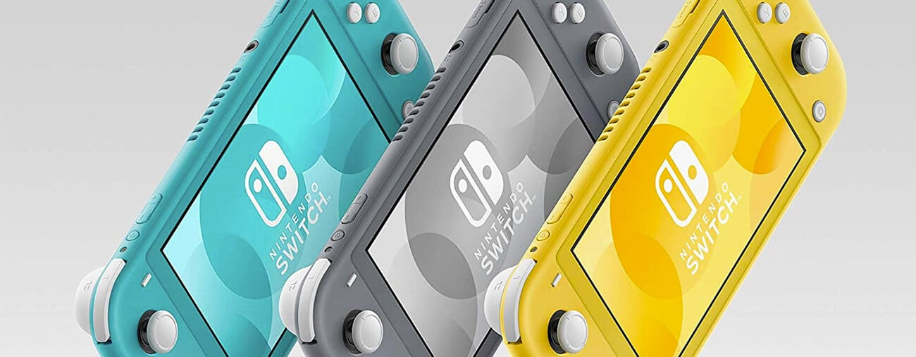 Switch Lite couleur populaire