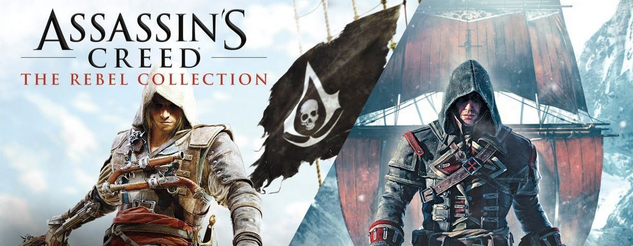 assassin s creed rebel collection assassin's creed rogue black flag switch