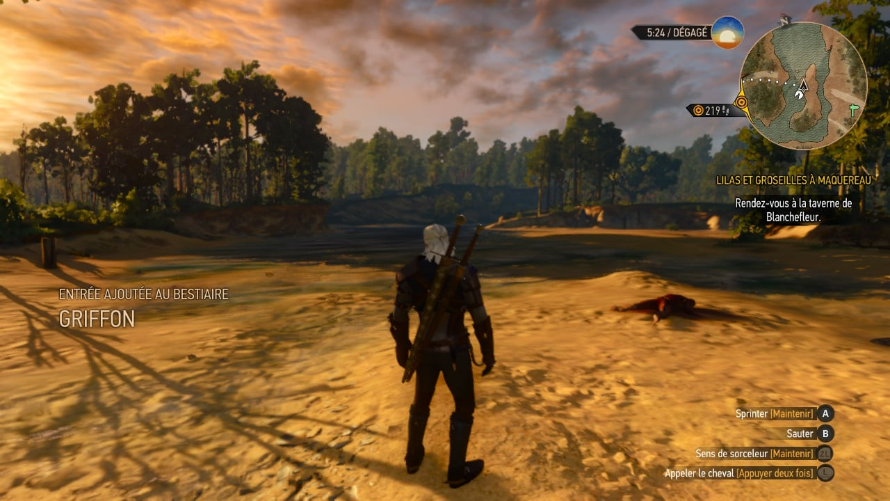 The Witcher 3 Nintendo Switch test