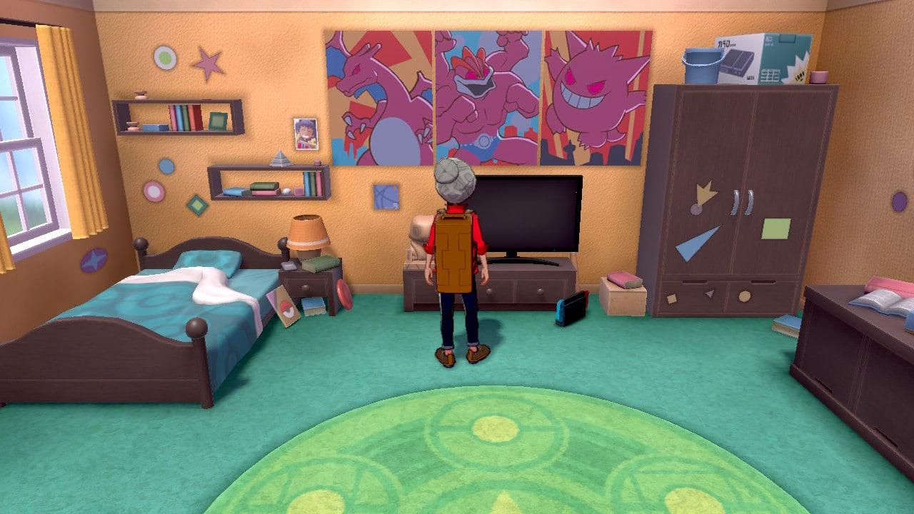 Pokémon Chambre