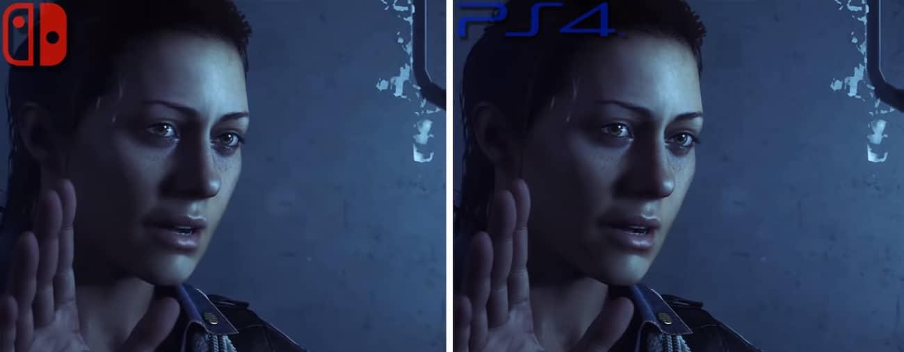 Alien: Isolation comparaison Nintendo Switch